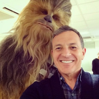 CHEWBACCA AND DISNEY EPISODE VII 2014