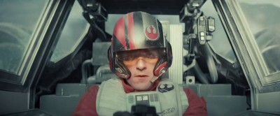 Oscar Isaac als X-wing piloot