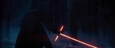 De nieuwe slechterik met een 'kruisvaarder'-lightsaber