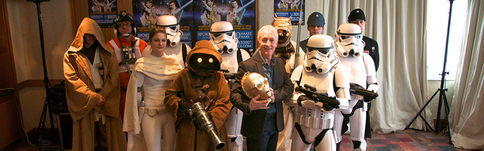 Anthony Daniels and Rebel Legium - Fanwars Members